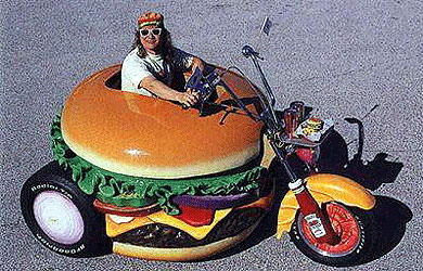 Burger Bike/moto burger